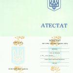 -Аттестат школы Украины на бланке 1993-1999 г.г. 0