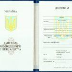 -Диплом техникума, колледжа Украины. Образец 1993-1999 г.г. 0