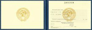 Дипломы - Диплом молодшого спеціаліста технікуму РРФСР 1982-1992 р.р.